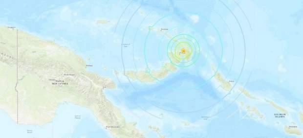 Tsunami en Papúa Nueva Guinea