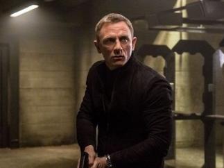 Daniel Craig en el rodaje de 'Bond 25'