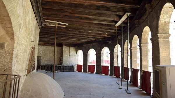 Cultura.- La Catedral presentó en 2014 un proyecto 'urgente' para restaurar la Lonja de Canónigos, según el arquitecto