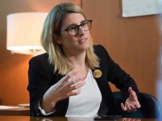 Elsa Artadi, número dos de la candidatura de JxCAT a la Alcaldía de Barcelona.