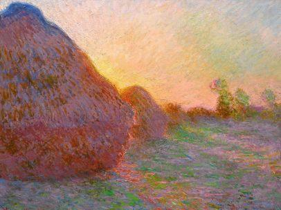 'Meules', de Claude Monet