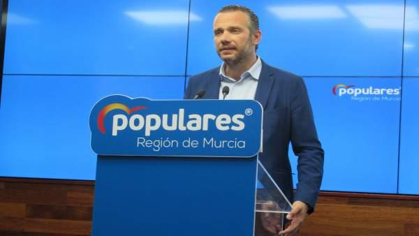 PP pide a Franco (Cs) que sea honesta con sus votantes y diga si sus votos acabarán en un gobierno de PSOE y Podemos