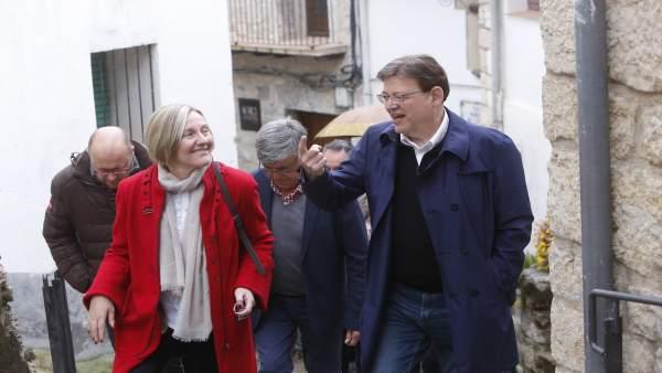 Puig defiende 'intensificar' la estrategia socialista contra la despoblación 'para que el mundo rural siga vivo'