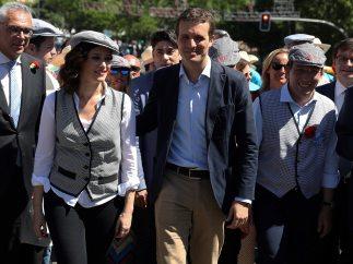 Los candidatos del PP, de San Isidro