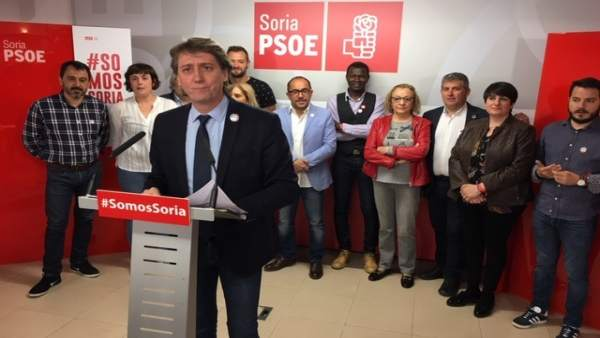 26M.- Carlos Martínez (PSOE) Invita A Los Sorianos A 'Sumarse Al Tiempo Del Progreso'