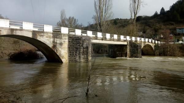El Gobierno de Navarra acometerá a partir de junio la reparación de los puentes de Eguíllor y Lerín