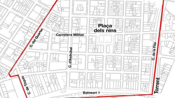 Emaya informa de cortes de agua este jueves y viernes en la zona del Arenal por obras de mejora del alcantarillado