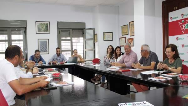 Huelva.- Interfresa valora la aceptación del plan de responsabilidad ética y social lanzado p la campaña de frutos rojos