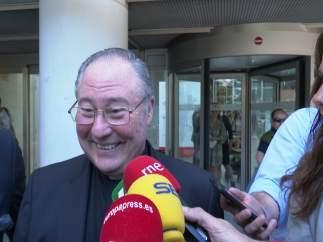 El bisbe auxiliar de València declara com investigat per la visita del Papa: 'Hui he confessat'