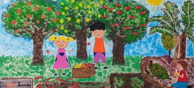 El Colegio Agustín Hernández Díaz de Moya (Gran Canaria) gana el concurso de carteles sobre fruta y verduras