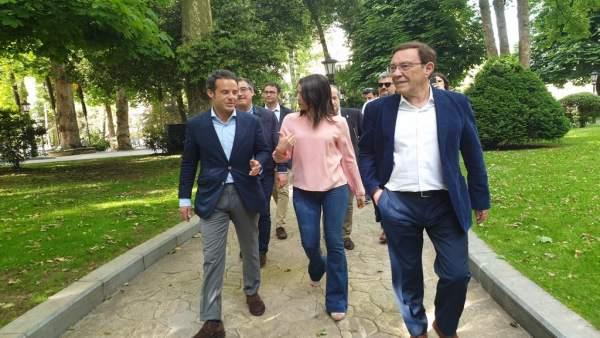 26M.-M.- Oviedo.- Cuesta (Cs) Carga Contra El Proyecto 'Rancio' De Canteli Y Niega Que El PP Gestione Mejor