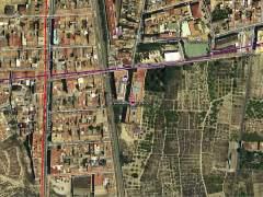 Sucesos.- Bomberos trabajan en el rescate de decenas de personas atrapadas en el incendio de un edificio en Alcantarilla