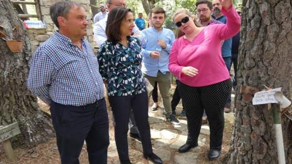 26M.- Margarita Robles Apoya A Luis Tudanca Por Su Promesa De 'Blindar' La Sanidad En El Estatuto De Autonomía