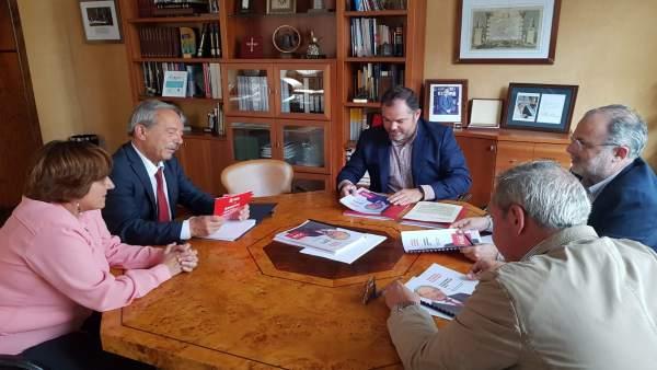 26M-M-Oviedo.- Wenceslao López (PSOE) Se Compromete A Hacer Un Plan De Inversiones A Cuatro Años