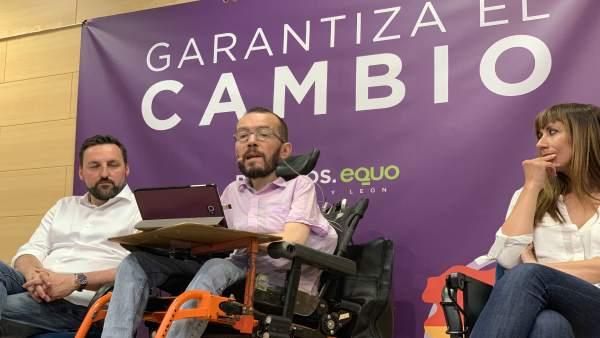 26M.- Echenique: 'Hay Una Manera Muy Efectiva De Decirle A Sánchez Con 'Rivera No' Y Es Votar Masivamente A Podemos'