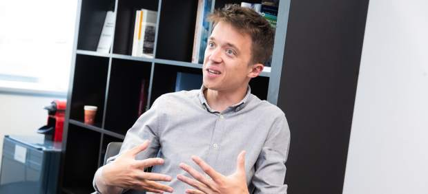 Íñigo Errejón, candidato de Más Madrid a la Presidencia de la Comunidad de Madrid.