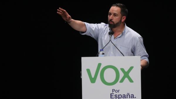 28A.- Abascal augura un resultado 'apabullante' a favor de España y que Vox 'desbordará' las previsiones