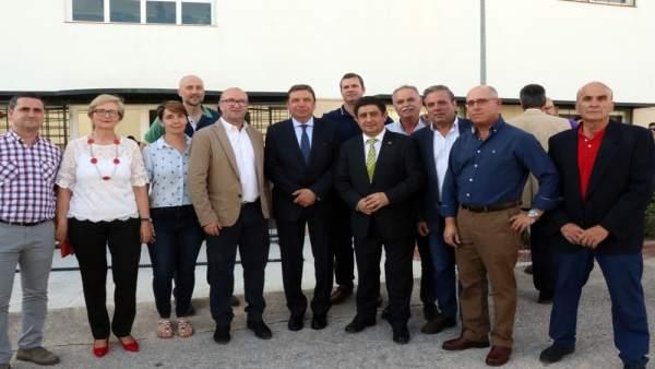 Jaén.- 26M.- Planas apoya a los candidatos socialistas en Villatorres y Torredonjimeno