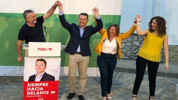 Cádiz.- 26M.- El PSOE presenta en Zahara una candidatura renovada con la que impulsar 'nuevos espacios de oportunidades'