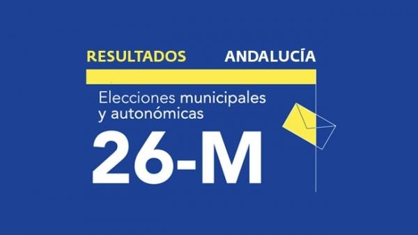 Resultados en Andalucía de las elecciones municipales 2019