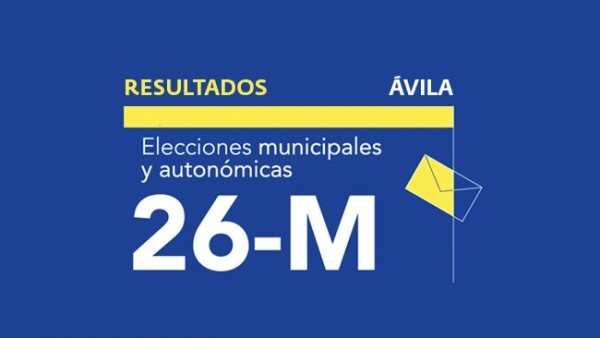 Resultados en Ávila de las elecciones municipales 2019