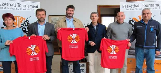Santander.- Más de 600 jugadores disputarán la cuarta edición del torneo Santander Masters Basketball