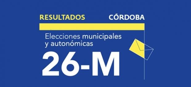 Resultados en Córdoba de las elecciones municipales 2019