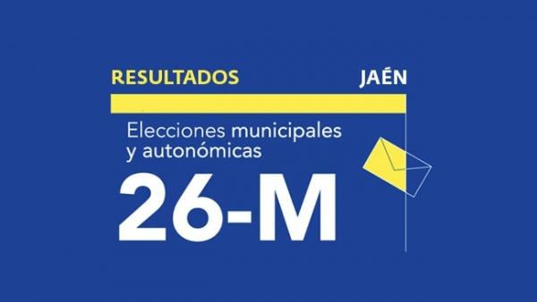 Resultados en Jaén de las elecciones municipales 2019