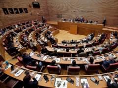 Se abre la décima legislatura de Les Corts Valencies.
