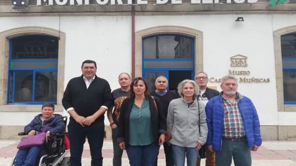 26M.- Miranda (BNG) Denuncia El Desmantelamiento De Los Servicios Ferroviarios En Monforte Y Se Compromete A Defenderlos