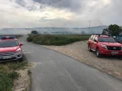 Sucesos.- Controlado un incendio entre Viana y Moreda de Álava