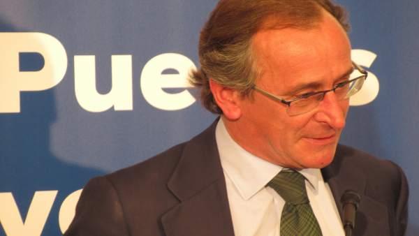 VÍDEO: Alonso cree que el PP vasco está 'centradísimo' frente al resto de partidos que se 'escoran mucho' hacia EH Bildu