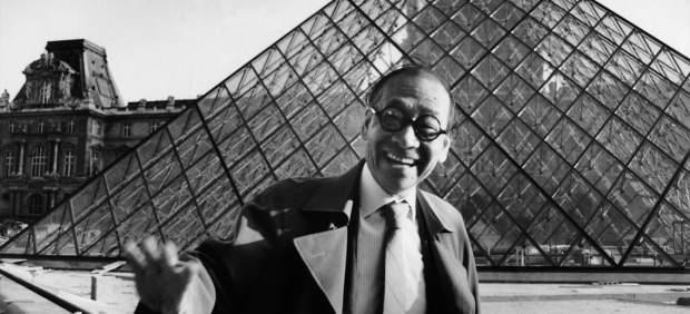 Muere a los 102 años el arquitecto que creó la pirámide del Louvre, Ieoh Ming Pei