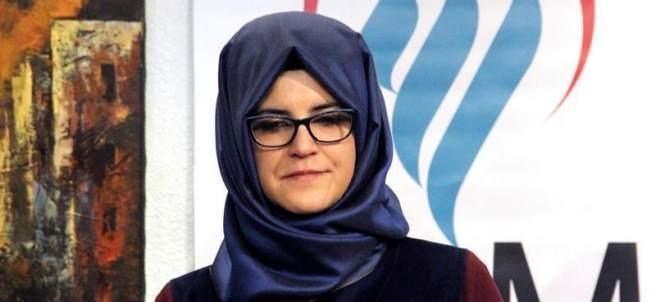 Hatice Cengiz, novia de Jamal Khashoggi