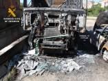 Detenido el presunto autor del incendio de un turismo, un camión y un semirremolque en Arnedo (La Rioja)