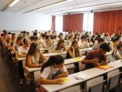 Aula del Campus Catalunya de la Universitat Rovira i Virgili de Tarragona.