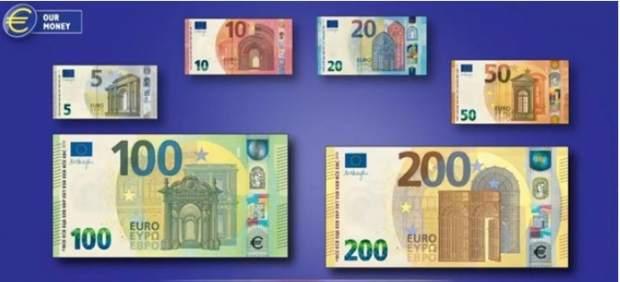 Así son los nuevos billetes de 100 y 200 euros que entrarán en circulación el 28 de mayo