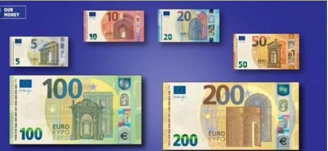 Nuevos billetes.