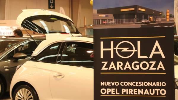 FeriaZaragoza.- Particulares y empresas renuevan sus vehículos en Stock-car