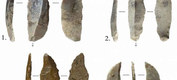 Hallan herramientas de caza de hace 40.000 años en una cueva de Calafell (Tarragona)
