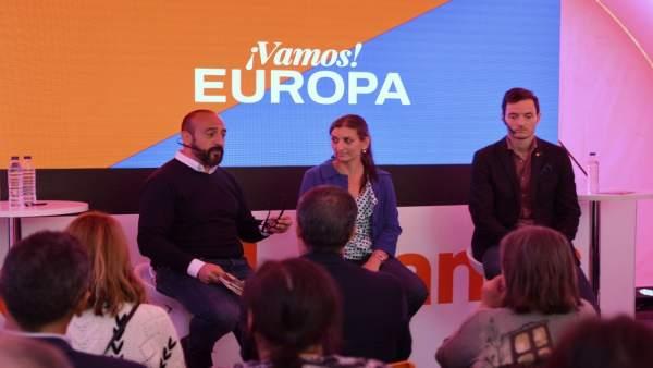 26M.- Jordi Cañas (Cs): 'El Nacionalpopulismo Es Uno De Los Retos Y Desafíos A Los Que Se Enfrentará Europa'