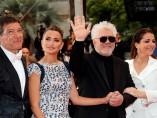 Antonio Banderas, Penélope Cruz, Pedro Almodóvar y Nora Navas