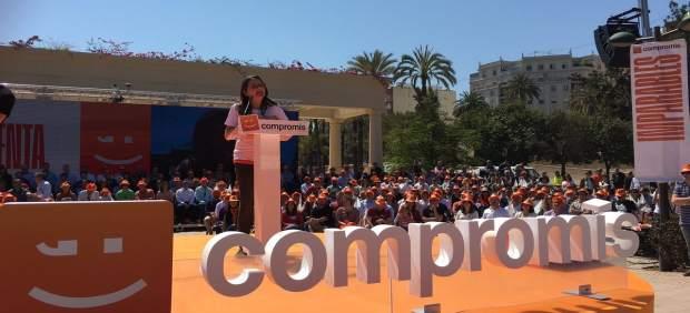 28A.- Oltra advierte al PSOE que 'cuando copia las políticas de derechas, la gente prefiere el original'