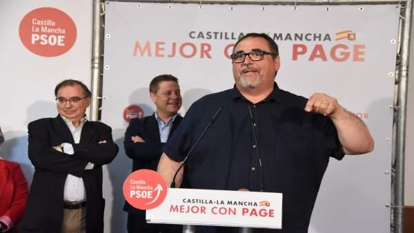26M.- Page Ironiza Con Suspender El Debate Y Emitir En Su Lugar Un Video Con La Intervención Del Alcalde De Villafranca