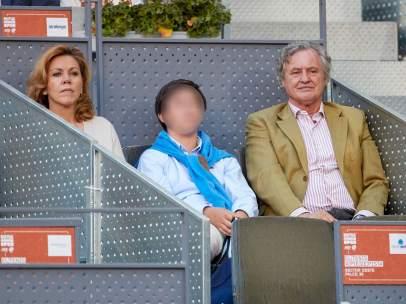 María Dolores de Cospedal, en el Mutua Madrid Open