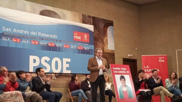 26M.-Zapatero Avisa Del 'Gran Lío' En El Que Están Sumidas Las Tres Derechas Y Pronostica Una 'Amplia Victoria' Del PSOE