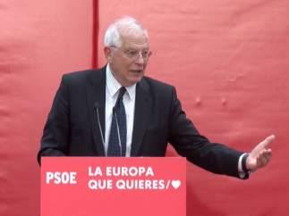 26M-E.- Borrell Ha Advertido De Que 'Si No Defendemos Europa Nuestro Futuro Está Comprometido'