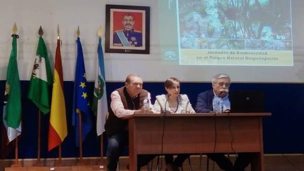 Jaén.- Soledad Aranda destaca en Santa Elena la importancia del desarrollo sostenible de los espacios naturales