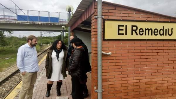 26M-A.- Ripa Afirma Que Cada Voto A Podemos Es Un Voto Útil Para Cambiar La Inercia De Asturias