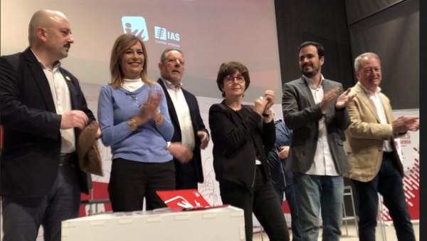 26M-A.- Garzón Y Vallina Llaman A La Máxima Movilización Y Al Voto Útil De IU